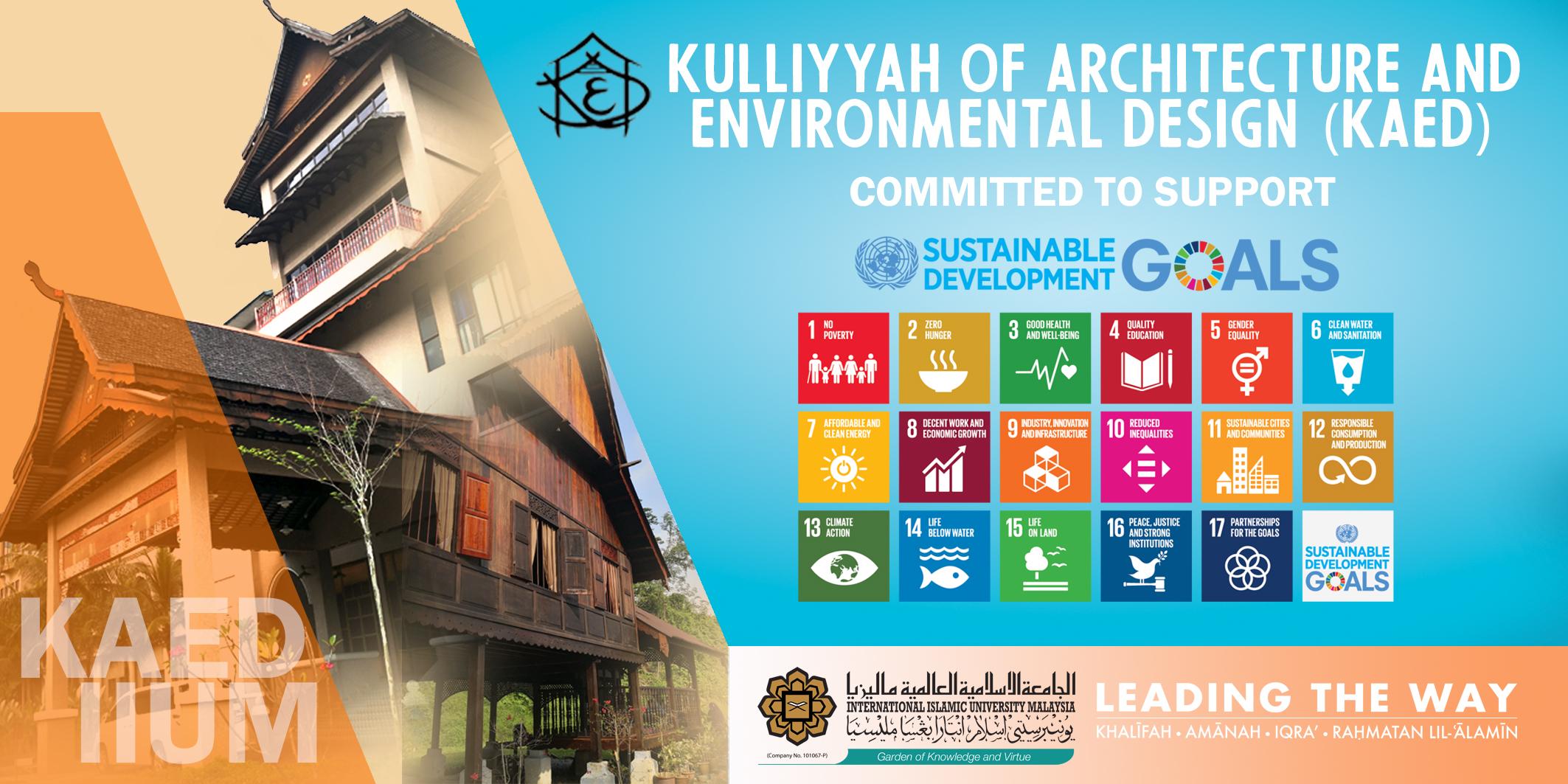 KAED supports SDG!