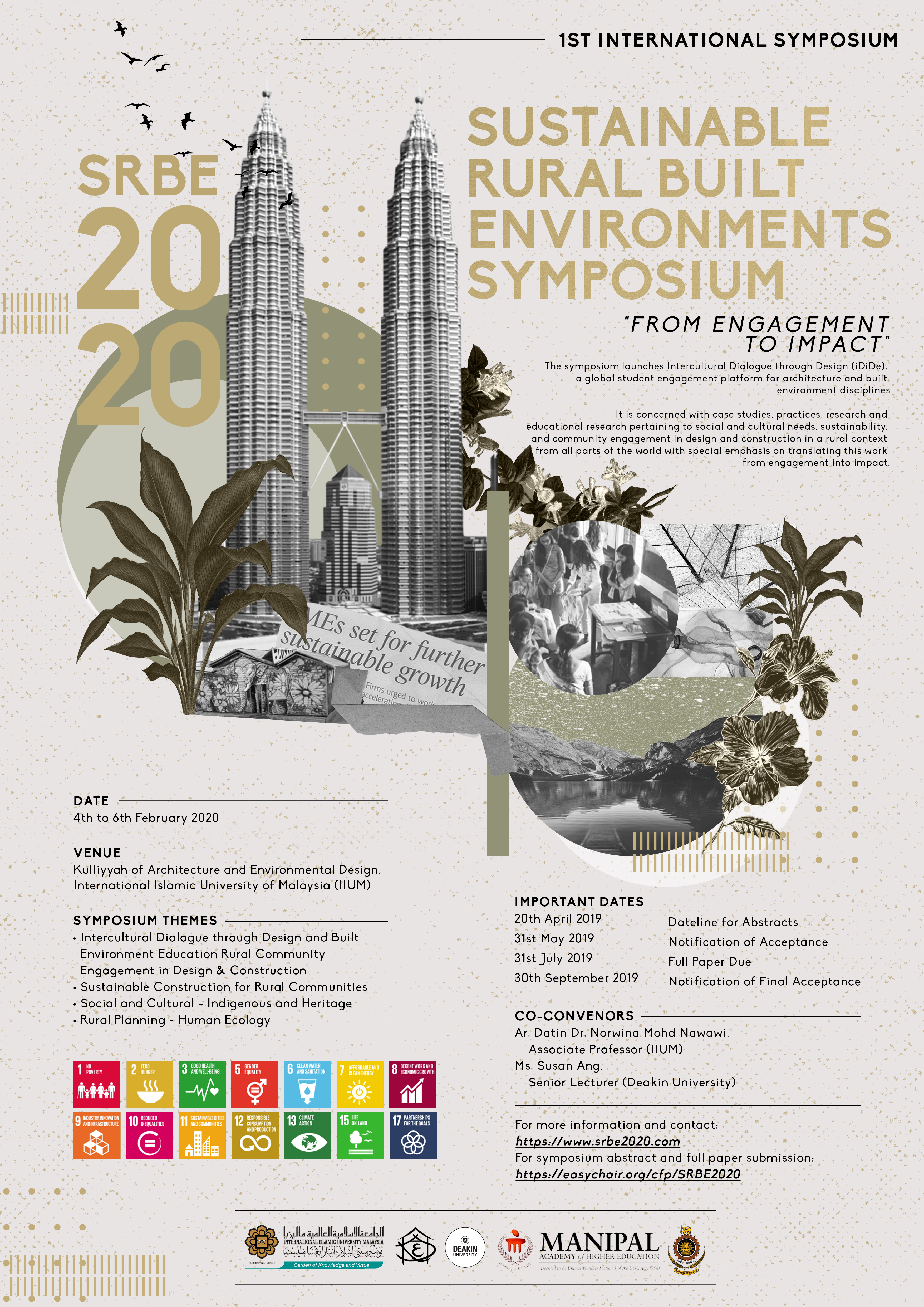 Sustainable Rural Built Environments Symposium (SRBE) 2020