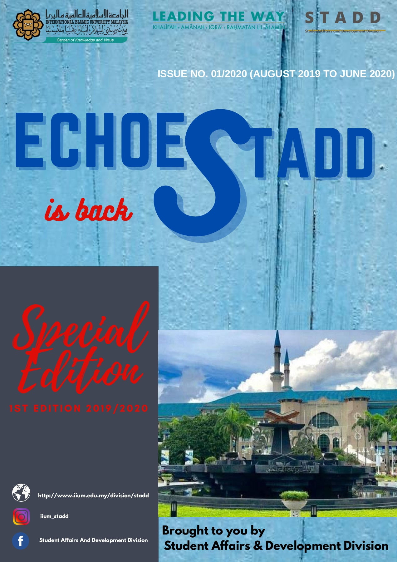 Echoes STADD No. 1/2020 (Special Edition)