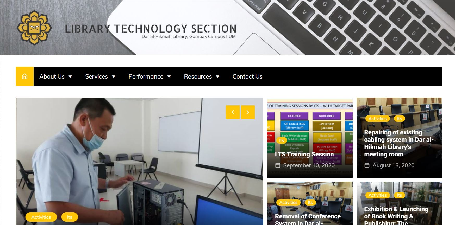 LIBRARY TECHNOLOGY SECTION