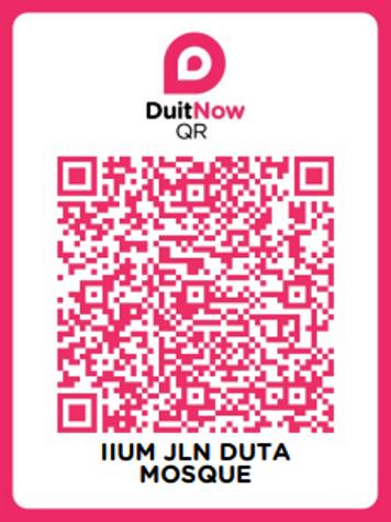 Duit Now QR IIUM Jalan Duta Mosque