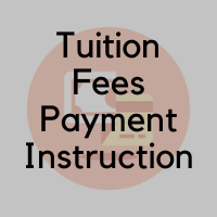 Tuition Fees Payment Instruction