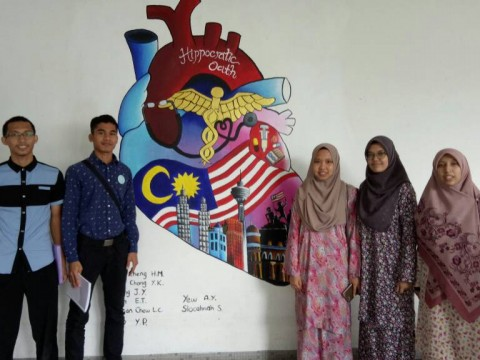 Kulliyyah of Dentistry students' won third place in Physiology Quiz