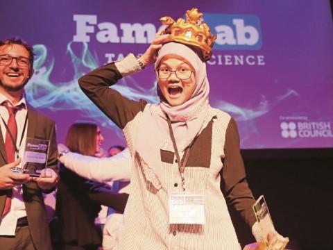 World's best science communicator