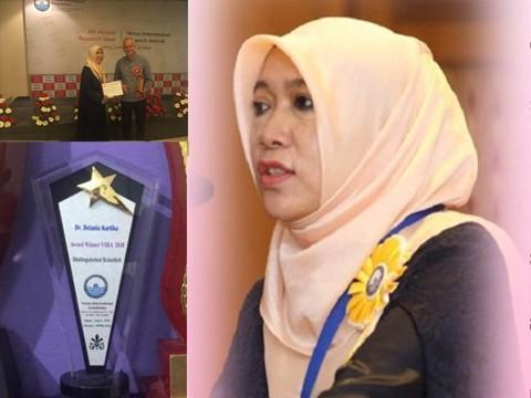Congratulations Dr. Betania Kartika Muflih of INHART