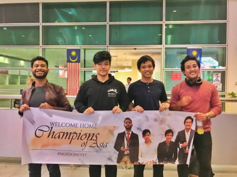 Congratulations to IIUM debaters for becoming the Champion at the Hanoi Asian British Parliamentary Debating Championship 2018