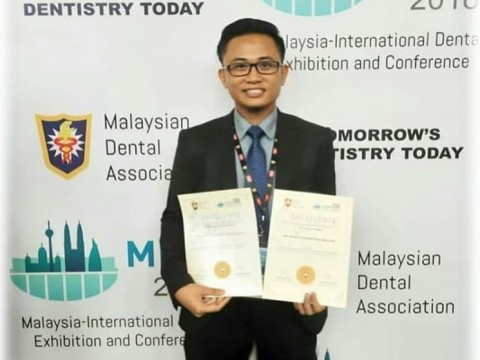 Congratulations KOD team for achievements during Malaysian-International Dental Exhibition and Conference 2018