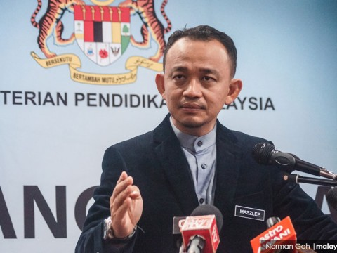 Maszlee announces sweeping university politics reforms