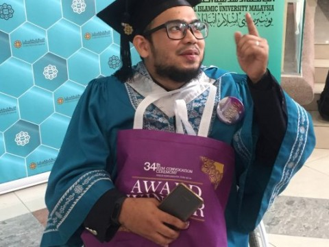 Disability not an obstacle to 3 extraordinary persons to graduate