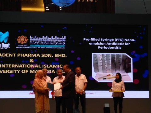 Congratulations to Asst. Prof. Dr. Mohd. Affendi on the prestigious award!