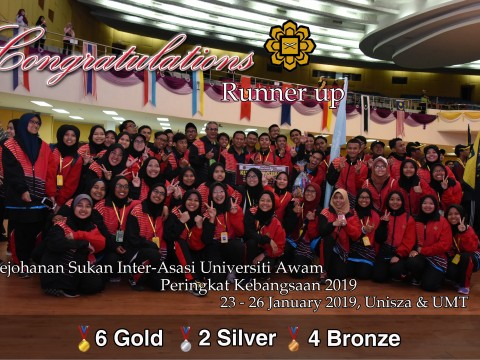 CONGRATULATIONS CFS-IIUM CONTINGENT IN ASASI GAME 2019