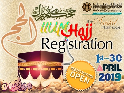 PRE-REGISTRATION OF IIUM HAJJ PROGRAMME