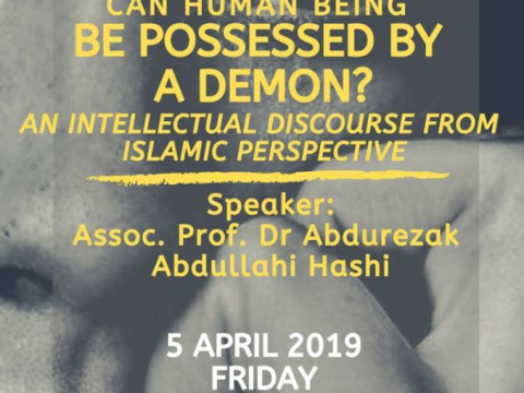 FoRSD Friday Talk : CAN HUMAN BEING BE POSSESSED BY A DEMON?