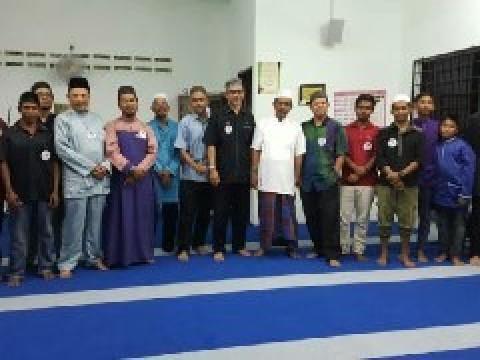 Corporate Social Responsibility at Kampung Orang Asli Batu 14, Jalan Kuantan Maran, Kuantan, Pahang
