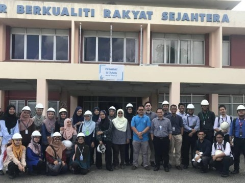 Visit to PAIP (Pengurusan Air Pahang) by Community Medicine Department