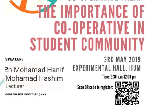 Co-Operative Talk: The Importance of Co-Operative in Student Community