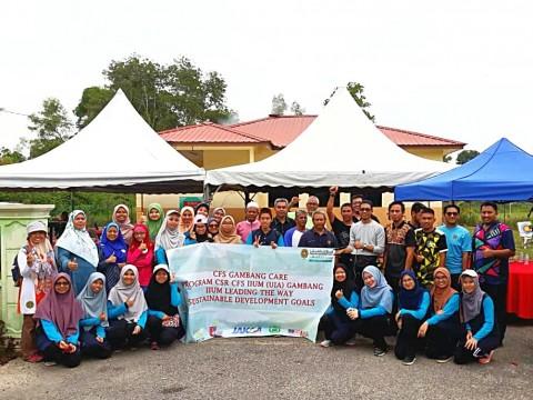 Corporate Social Responsibility at Kampung Orang Asli Batu 14, Gambang, Kuantan Pahang