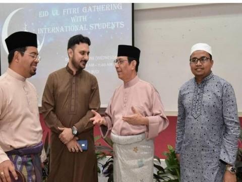 Sambutan 1 Syawal ubat kerinduan mahasiswa antarabangsa UIAM