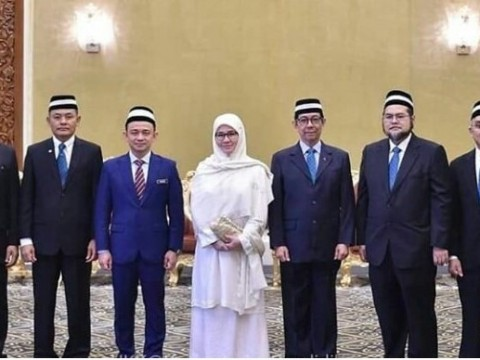  Raja Permaisuri Agong Ketua Perlembagaan UIAM baharu