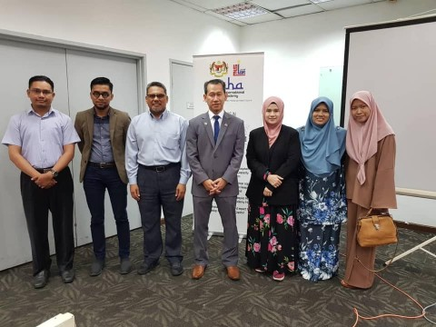 INHART Attending Train of Trainer (TOT) by Malaysia International Halal Academy (MIHA)