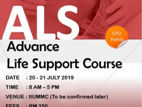 Advanced Life Support Workshop 2019