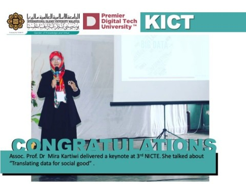Talk Given by Assoc. Prof. Dr. Mira Kartiwi