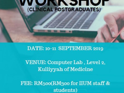 Research Methodology Workshop (Clinical Postgraduate)