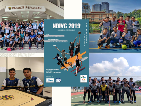 Student Achievement during National Dental Intervarsity Games 2019 (NDIVG 19)