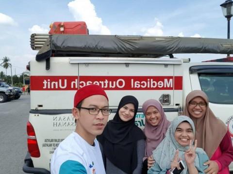 "KOD student participation in ""Misi Kemanusian Pos Lenjang"""