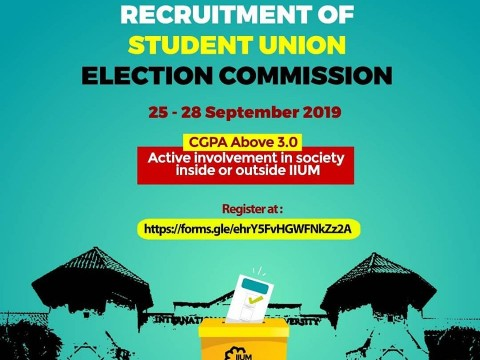 RECRUITMENT OF STUDENT UNION ELECTION COMMISSION