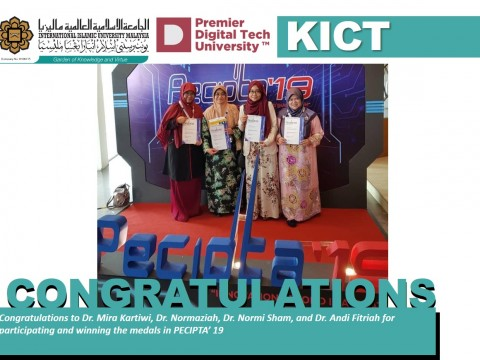 Congratulations to all KICT PENCIPTA2019 Winners!