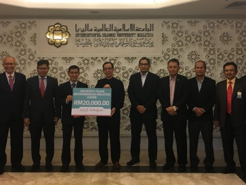 Bank Islam Malaysia aids university's mission to provide for needy students