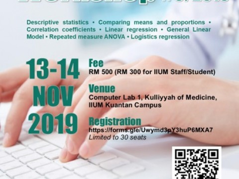 Biostatistics Workshop No.3/2019