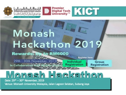 Monash Hackathon 2019