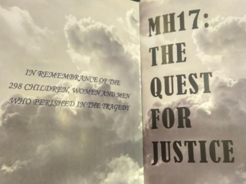 MH17: THE QUEST FOR JUSTICE - CONFERENCE REPORT