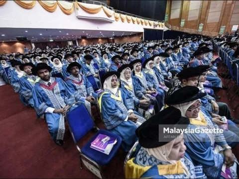 Majlis Konvokesyen UIAM Ke-35 rai 5,445 graduan