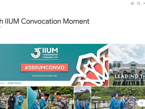 35th IIUM Convocation Moment