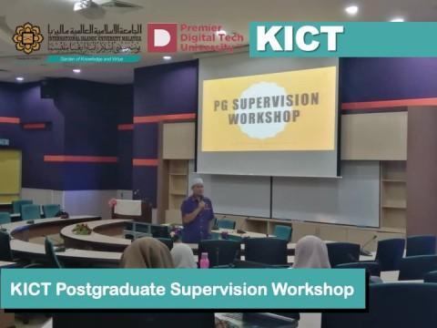 KICT Postgraduate Supervision Workshop