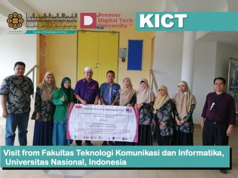Visit From Fakultas Teknologi Komunikasi dan Informatika, Universitas Nasional, Indonesia.