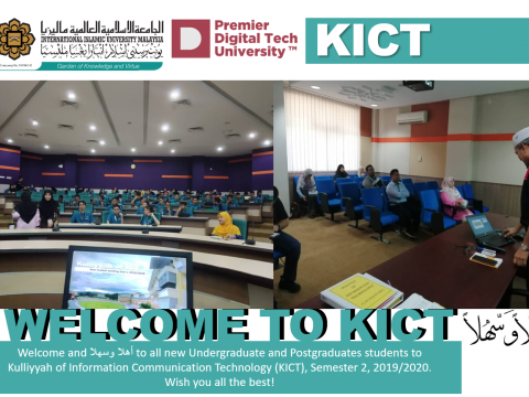 Welcoming New KICT Undergraduate and Postgraduate Student