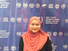 CENTRE FOR FOUNDATION STUDIES PARTICIPATION IN ASIA YOUTH INTERNATIONAL MODEL UNITED NATION (AYIMUN 2018)