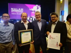 CONGRATULATIONS TO CFS IIUM STAFF ON THE JURY SPECIAL MENTION AWARD DURING THE KL MAYOR UNIVERSAL ACCESS AWARD DESIGN 2018