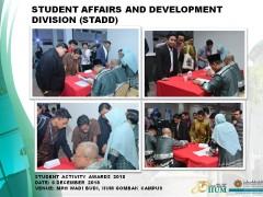 Student Activity Awards 2018