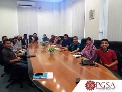 PGSA KOE LINE-UP MEETING WITH PROF. AHMAD FARIS ISMAIL, DEAN KULLIYYAH OF ENGINEERING ON 14TH FEBRUARY 2019