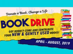 """Event: Book Drive """"Donate a Book, Change a Life"""" 