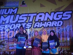 Congratulations to the KAHS Awardees of IIUM Mustangs Sport Award 2018!