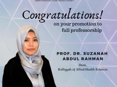 Congrats to the Dean!