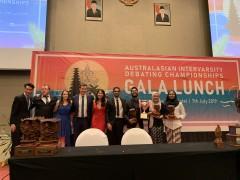 IIUM Debate Team Wins at the Australasian Intervarsity Debating Championship,  Bali, Indonesia.