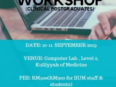 Research Methodology Workshop (Clinical Postgraduate)