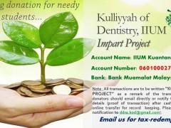 Donation for KOD IIUM Impart Project